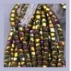 3 Cut Bead Opaque Bronze Aurora Borealis Metallic 10/0